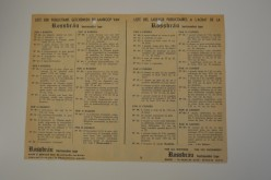 Achterzijde folder Rossbrau 1959